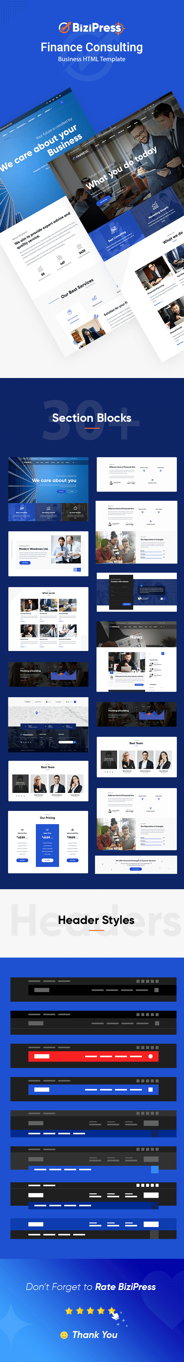 BiziPress HTML Feature