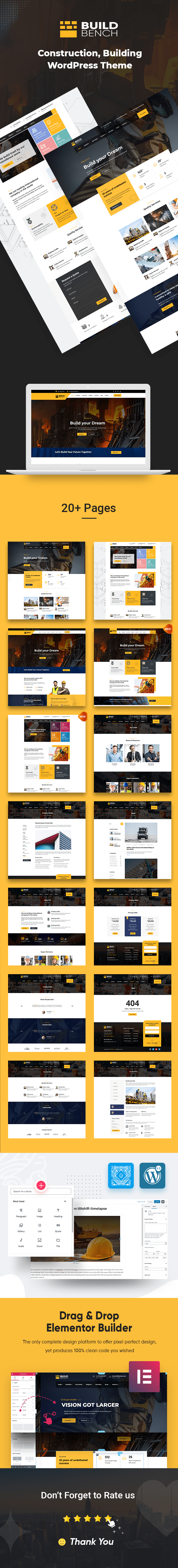 Buildbench WordPress