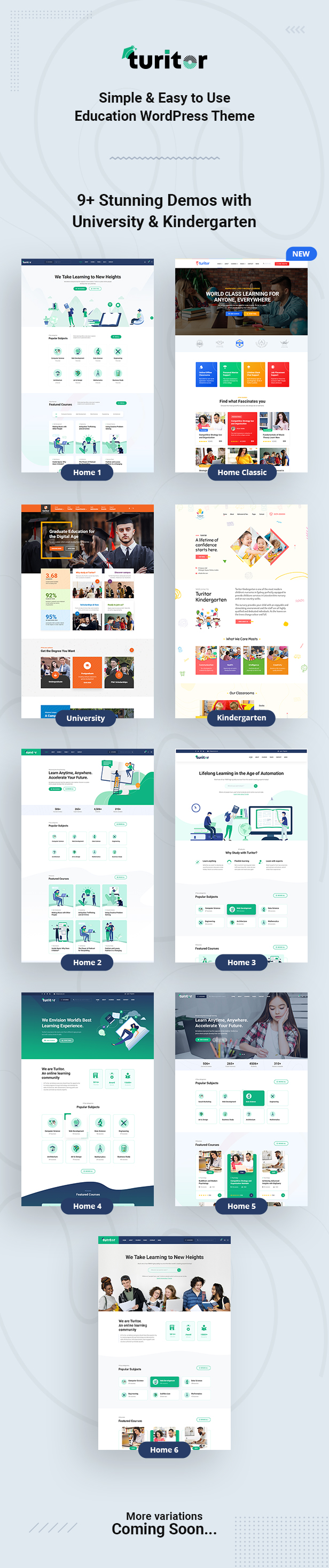 Turitor Education WordPress Theme