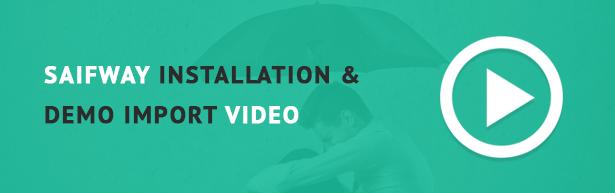 Saifway installation video